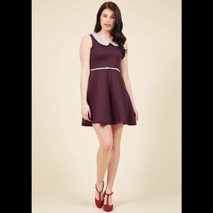 ModCloth Work to Play Dress in Purple